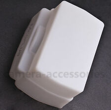 Stretchable Silicone White Flash Dome Diffuser for Sony HVL-F58AM HVL-F42AM