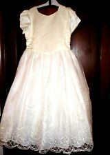 TIP TOP GIRLS COMMUNION, FLOWER GIRL, WHITE SPECIAL OCC. DRESS SZ. 12 NWT