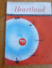 Heartland Magazine Summer 1953 US Canadian Inland America FIRST ISSUE