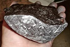 AMAZING 2770 GM SEYMCHAN ETCHED METEORITE END PIECE, RARE PIECE!!!