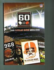 2006 Cleveland Browns NFL Football Media GUIDE