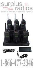 6 VERTEX VX-824 G7 5W 512CH UHF 450-512MHZ RADIOS POLICE FIRE EMS VX824