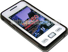 SAMSUNG S5260 Star II CUSTODIA Guscio Cover in TPU Gel diamond Star 2