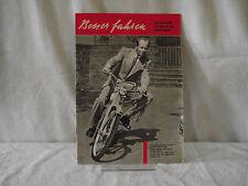 NSU Besser fahren Zeitschrift 1955 NSU Quickly Roller Max etc. Zeitschrift