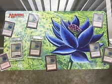 OFFICIAL Magic the Gathering mtg Classic BLACK LOTUS Playmat!  Extremely Rare!!