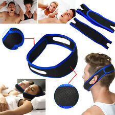 Anti Snoring Chin Strap Belt Stop Snore Device Apnea Jaw Support Health Care