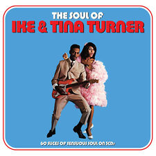 Ike & Tina Turner SOUL OF Best Of 60 Songs ESSENTIAL COLLECTION New Sealed 3 CD