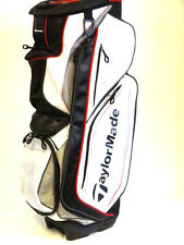 TaylorMade Catalina Cart Bag White/Silver/Black/Red  NEW 6411