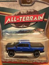 Greenlight All-Terrain Series 4. 2017 Dodge Ram 2500.  blue
