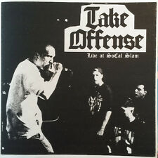 """Take ataque ofensivo-Live at socal slam colored 7"""" Limited One Time Edition/500 red"""