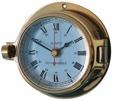Meridian Zero / Channel Brass Clock 18030