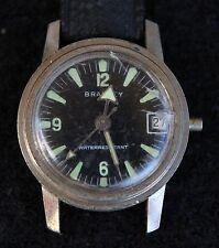 Vintage Bradley Diver Windup Swiss Made Ladies Watch