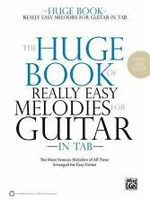 The Huge Book of Really Easy Melodies for Guitar in TAB: The Most Famous Melodie