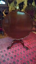 ANTIQUE MAHOGANY TILT TOP TABLE EARLY 1800'S