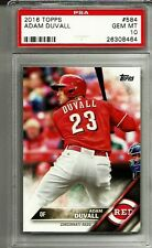 2016 Topps #584 Adam Duvall RC-Rookie REDS graded PSA 10 Gem Mint