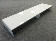DUAL MONITOR STAND PERSPEX PLINTH NEW DURABLE ACRYLIC COMPUTER SCREEN RISER 5mm