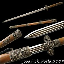 100% Handmade Top Quality Chinese Sword Pattern Steel Razor Sharp Blade #32800