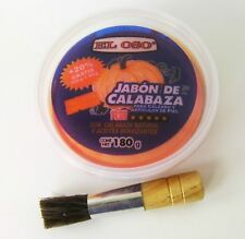 El Oso Saddle Soap Jabon de Calabaza Leather Shoes Boots Cleaner 180g 6.3 Oz!