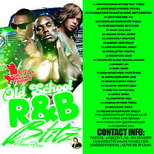 CLASSIC OLD SCHOOL R&B BLITZ  THROWBACK MIX CD VOLUME 4