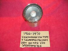 1966-1970 VW VOLKSWAGEN TYPE 3 FACTORY SPEEDOMTER CLUSTER ASSEMBLY FREE SHIPPING