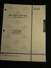2001 Evinrude 5 6 HP 4 Stroke Parts Catalog Manual Outboard FACTORY OEM