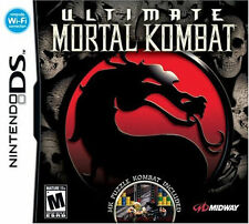 Ultimate Mortal Kombat NDS New Nintendo DS