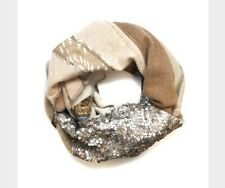 Anthropologie Burning Torch Vivienne Scarf $340.00 Silk/cashmere/sequins
