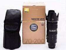 Nikon 70-200mm f/2.8 AF-S VR II Lens