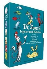 DR. SEUSS Beginner Books 5 book cat hat, hop pop, green egg, one fish, fox socks