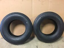 (2) ST185/80D13 Load Range D Bias Ply Trailer Tire H188ST