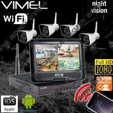 DIY Wireless Security Cameras IP House Farm Home Night Vision Remote Phone View