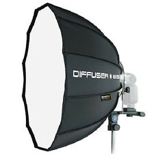 "NEW SMDV Softbox Dodecagon Diffuser 65 25"" f/ Speedlight Speedlite Quantum Flash"