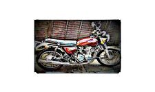1974 honda cb550 Bike Motorcycle A4 Photo Poster