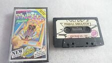 ADVANCED PINBALL SIMULATOR JUEGO CASSETTE CINTA SPECTRUM SINCLAIR ZX 48K 128K