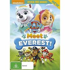 PAW PATROL : MEET EVEREST (English cover)  -  DVD  UK Region 2 Compatible