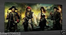 Oil Painting HD Print On Canvas Modern Deco,Pirates Of The Caribbean 20X40inch