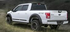 For: FORD F150; 983479 Truck Cab Spoiler MATTE BLACK Easy 3M Tape-On 2015-2016