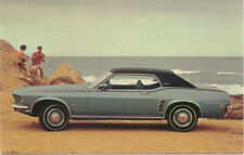 Ford Mustang Grande for 1969 original Postcard