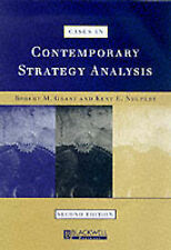 Cases in Contemporary Strategy Analysis,