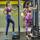 bd Women Long Pants Workout Colorful Printed Fitness Yoga Sport Stretch Leggings