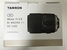 NEW TAMRON SP 90mm F2.8 Di MACRO 1:1 VC USD F017 (90 mm F/2.8) for Canon*Offer