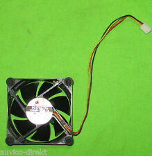 Superred cha8012bs-ta alloggiamento delle ventole VENTOLA FAN 80mm 12v 0,12a 3-pin