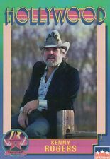 Kenny Rogers, Singer, Hollywood Star, Walk of Fame Trading Card --- NOT Postcard
