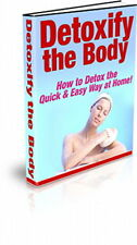 Discover The Secrets To DETOX Your Body The Quick And Easy Way At Home (CD-ROM)