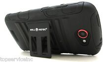 HTC ONE S - Armor Case Built-in Kickstand with holster & belt clip