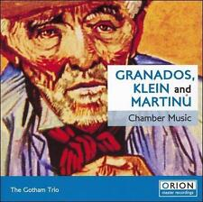 Granados, Klein, Martinu: Chamber Music (CD, Apr-2007, Orion) NEW