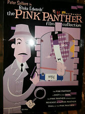 The Pink Panther Film Collection with 7 Asian and European subtitles - VGC