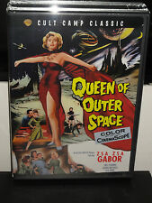 Queen of Outer Space (DVD) Zsa Zsa Gabor, Eric Fleming, Laurie Mitchell, NEW!