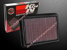 K&N 33-5038 Hi-Flow Air Intake Filter for 2015-2016 Mazda 2 and Scion iA 1.5L