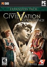 """*NEW* Sid Meier's Civilization V """"Gods and Kings"""" Expansion Pack for PC"""
